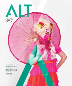 cover of ALT magazine featuring a story on Maharishi University of Management, Fairfield