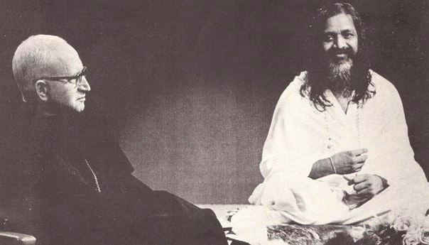 maharishi and abbot
