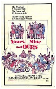 interview with Tom North - poster for Yours_Mine_Ours_(1968)