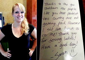 ellen degeneres - act of kindness repaid - waitress sarah hoidahl_