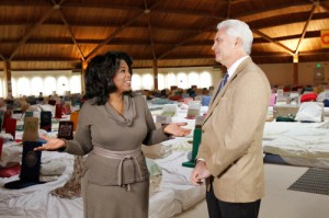 fairfield iowa - city of transcendental meditation - ed malloy with oprah in the golden domes