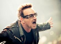 Bono, the celebrity who just keeps giving: