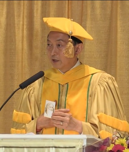 yukio hatoyama japan prime minister mum commencement graduation speech video