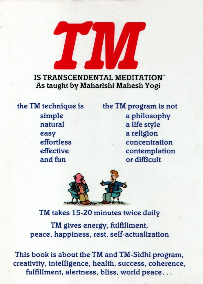 tm book transcendental meditation review w