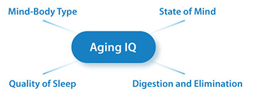 Aging-IQ-research meditation longevity